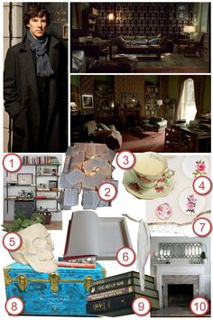 Sherlock's Apartment · DIY The Room · Cut Out + Keep Craft Blog