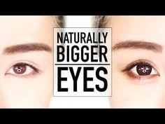 Beginners Bigger Eyes Drugstore Makeup Tutorial ♥ Perfect for Hooded Eyes & Asian Eyes ♥ Wengie - YouTube
