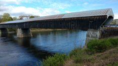Longest covered bridge in US, Cornish, Vt