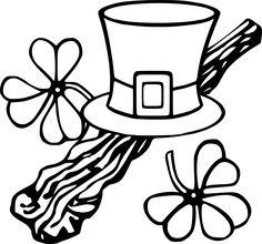 Shillelagh Shamrock Irish Hat