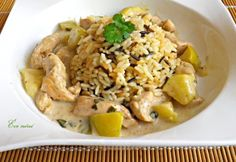 Evo, Fried Rice, Risotto, Potato Salad, Potatoes, Chicken, Cooking, Ethnic Recipes, Kitchen