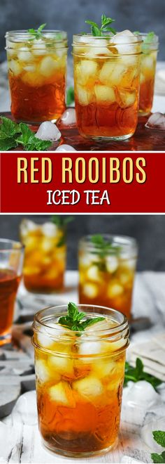 Roter Rooibos Eistee Red Rooibos Ice Tea – – The Red Tea Detox Green tea has long been acknowledged for its health and wellness benefits, including weight loss assistance. Green Tea Detox, Detox Tea, Iced Tea Recipes, Detox Recipes, Red Rooibos Tea, Rooibos Iced Tea Recipe, Roobios Tea, Red Tea Benefits, Paleo