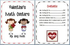 V-Day Math Centers