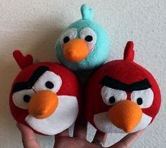 5 DIY Angry Birds-Inspired Crafts For The Upcoming Holidays