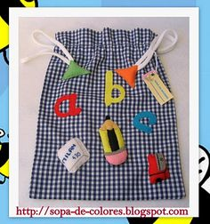 SOPA DE COLORES: BOLSITA DE MERIENDA Sewing Projects, Projects To Try, Bag Patterns To Sew, Best Bags, Fabric Bags, Designer Backpacks, Goodie Bags, Cotton Bag, Quilts