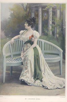 JACQUES DOUCET | Jacques Doucet, Mlle Suzanne Avril, 1902