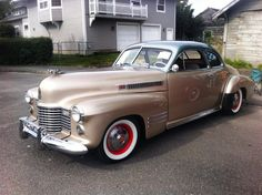 Cadillac Series 62 Coupe 1941.