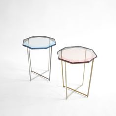 Gem Side Tables // debrafolz.com