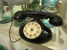 Antique Toy Phone