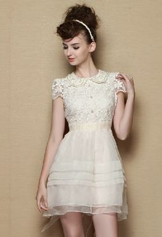 The top of this dress is lovely