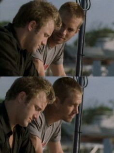 Paul...Into The Blue (deleted scenes)
