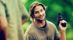 """You developed a forever crush on Josh Holloway.   15 Signs """"LOST"""" Changed Your Life"""