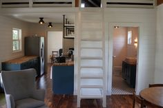 This is the modern farmhouse of our dreams! This Cottage Cabin and Cottage Kwik Room are the perfect set up for your country retreat. Small Cottage House Plans, Small Cottage Homes, Small House Floor Plans, Small Cottages, Cottage Plan, Shed To Tiny House, Tiny House Cabin, Tiny House Design, Garage House