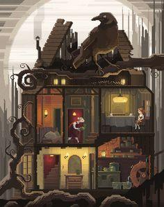 Scene #23: 'Tea' www.pixelshuh.com