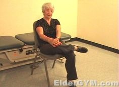 Flexibility Stretches That Are Safe, Simple And Effective Exercises For Older Adults And The Elderly.