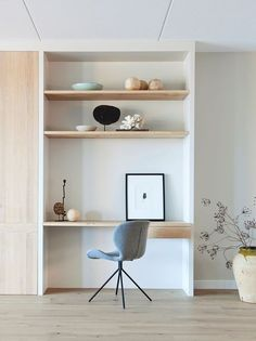 Find stylish small office nooks and clever small space ideas! Learn how to carve out space for a work station in your home.