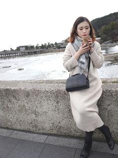 mizuhoさんの「SAC DEMI LUNE /CROUTE ENDUITE EFFET SERPENT 17A(A.P.C.)」を使ったコーディネート