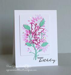 Pam Sparks Bellina Flora & Chrysanthemum Collage