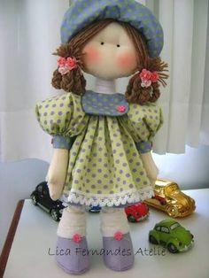 Resultado de imagem para como fazer boina de boneca russa