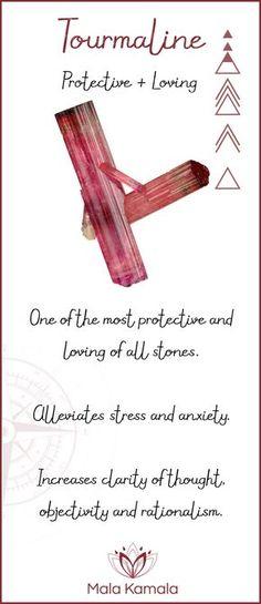 La turmalina es una de las piedras más protectoras y amorosas de todas las gemas. www.arkanoezael.com
