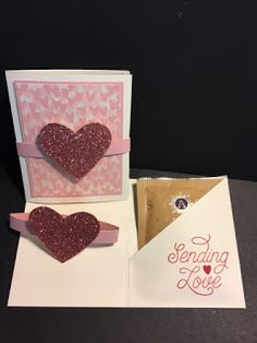My Creative Corner!: Designer Tin of Cards, Valentine's Day Gift, Weekend Project, Stampin' Up!, Rubber Stamping, Handmade Cards