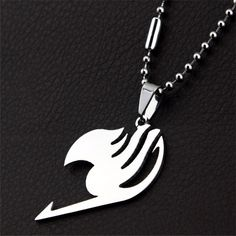 This Fairy Tail necklace is a must-have for Fairy Tail fans! It comes in an elegant gleaming silver and adds a classy touch to any wearer - perfect as a gift for Fairy Tail fans. Item Type: Necklace M