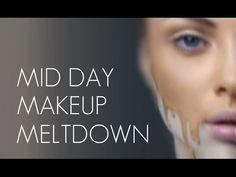 How to avoid mid day makeup meltdown - Wayne Goss Face Makeup Tips, Day Makeup, Skin Makeup, Beauty Makeup, Beauty Advice, Beauty Stuff, Beauty Hacks, Wayne Goss, Cake Face