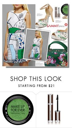 """""""Green Day"""" by edita-n ❤ liked on Polyvore featuring MAKE UP FOR EVER and Givenchy"""