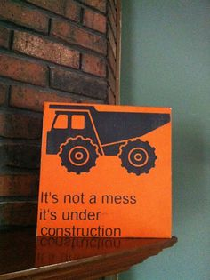 truck room decor for kids | Dump truck sign kids decor boys room art hand by SimpleChicLiving, $30 ...