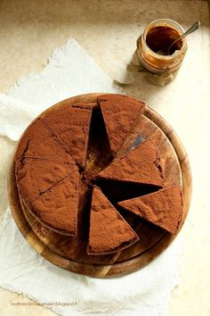 Peanut butter and chocolate cake.