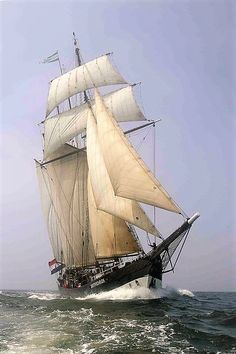 "Three-masted schooner ""Oosterschelde"""