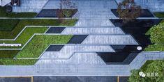 景观邦 Landscape Design Plans, Landscape Concept, Landscape Architecture Design, Green Architecture, Concept Architecture, Park Landscape, House Landscape, Urban Landscape, Architecture Drawing Plan