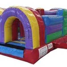 Click this site http://www.allamericaninflatables.com/category/games_-_obstacle_courses/ for more information on Inflatable Slides. All American Inflatable Slides inspects and sanitizes each and every inflatable before renting them out to ensure the highest quality and standards. Our obstacles are guaranteed to keep children entertained and safe. The seams are reinforced with tough thread and sealants to prevent ripping and tearing.