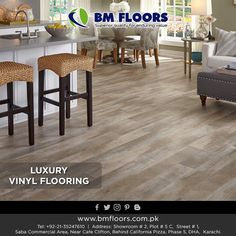 BM Floors is a delicate brand name of laminate flooring and Luxury Vinyl Flooring which means to provide with a refreshing product of flooring. Visit us at http://bmfloors.com.pk/luxury-vinyl-flooring/ #bmfloors #luxuryvinylflooring #flooringindustry #importersoftopqualityflooring #rocktilevinylflooring #bmfloorspakistan