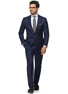 16. LAZIO BLUE PLAIN Make this versatile blue Lazio your seasonal go-to. Cut from pure wool by Zignone, its fitted tailoring, lightly padded shoulder, notched lapels and flap pockets make this 2-button fit a standard of clean, up-to-date style. $499