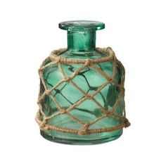 Nice Catch Jar Vase in Green