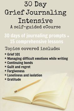 Participants of this eCourse should come ready to journal, yes, but they should also be prepared to learn, explore, and reflect. This eCourse is made up of two elements: Journaling Prompts and Lessons