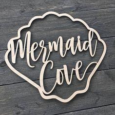 Bedroom Door Signs For Girls Kid Bathrooms Ideas Mermaid Sign, Mermaid Cove, Cute Mermaid, Mermaid Sayings, Mermaid Lagoon, Mermaid Bedroom, Mermaid Nursery, Girl Nursery, Mermaid Bedding