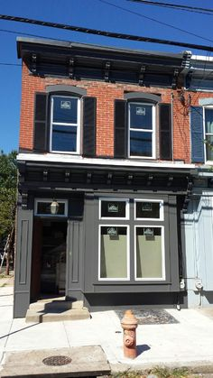 Historic facade restoration in Philadelphia