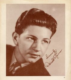 Young Donald O'Connor, c. I'll take 6 Famous Men, Famous Faces, Donald O'connor, Print Pictures, Wall Pictures, Gene Kelly, Fred Astaire, Classic Movies, American Actors