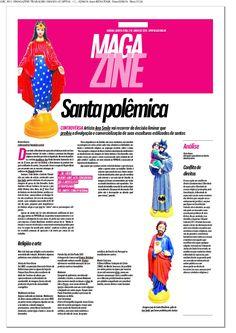 Matéria sobre polêmica envolvendo a artista Ana Smile publicada em 2 de junho de 2016 no jornal O POPULAR.