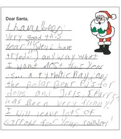 Letters To Santa The Love For Star Wars Starts At An Early Age