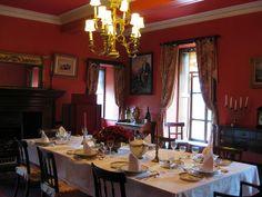 Dining Room, Braemar Castle