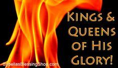 Prophetic Word July 2017: Glory Kings & Queens!