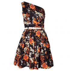 Trollied Dolly One Should Floral Dress by Oliver Bonas