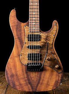 Suhr Standard Custom African Mahogany / Curly Koa - Natural Satin | Musical Instruments & Gear, Guitars & Basses, Electric Guitars | eBay!