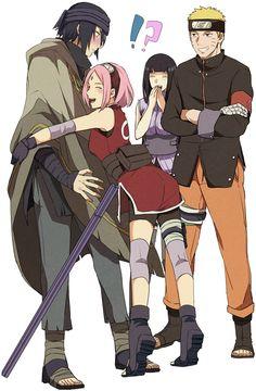 Awww sasuke's face :)