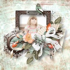 """Kit """" Beloved Vintage """" by Angel's Designs and Doudou's Design Photo by Sandra  http://digital-crea.fr/shop/index.php?main_page=product_info&cPath=155_331&products_id=20252#.VUMm85PLJrY"""