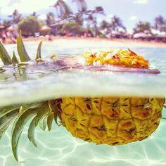 Floating Pineapple - Ananas flottant #summer www.ananasday.com