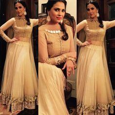 Lara Dutta in Manish Malhotra Lara Dutta, Anarkali Lehenga, Manish Malhotra, South India, Bridesmaid Dresses, Wedding Dresses, India Fashion, Indian, Touch